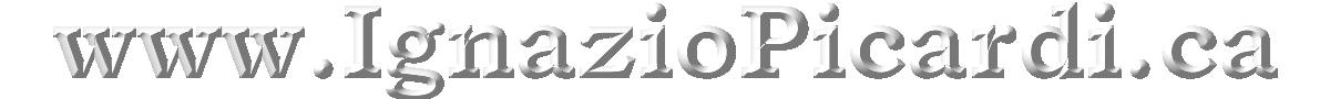 IGNAZIO PICARDI Canadian Official Site Registrant openSRS Tucows PandPItalia